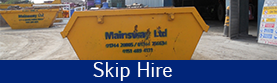 Skip outside - Skip Hire in Liverpool, Merseyside